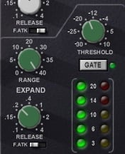 Mixing Kicks: Frequencies, Tones, Tuning & Transients Waves SSL Channel Noise Gate